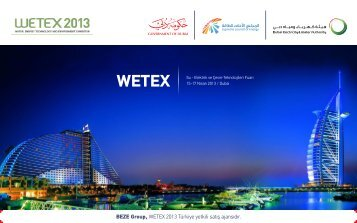 BEZE Group, WETEX 2013 Türkiye yetkili satış ajansıdır.