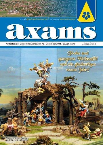 (4,80 MB) - .PDF - Gemeinde Axams - Land Tirol
