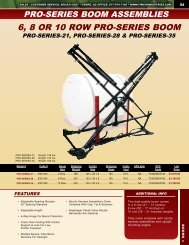 6, 8 OR 10 ROW PRO-SERIES BOOM - FIMCO Industries
