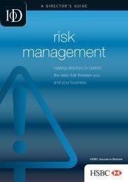 risk management - Director Magazine