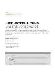 PDF Unterhaltungsliste 2013 - Balance Hotels