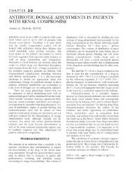 antibiotic dosage adjustments in patients with renal compromise