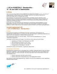 LX5 im KUNSTSILO - Standpunkte » 15 - 30 Juni 2007 in Saarbrücken