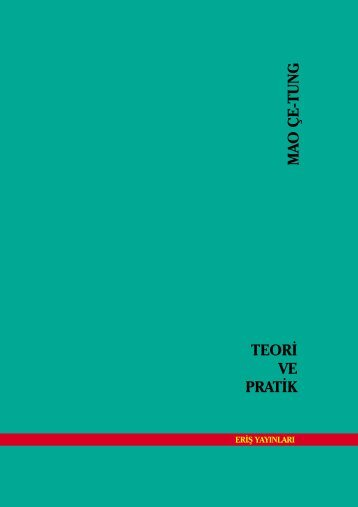 Teori ve Pratik - Kurtuluş Cephesi Dergisi