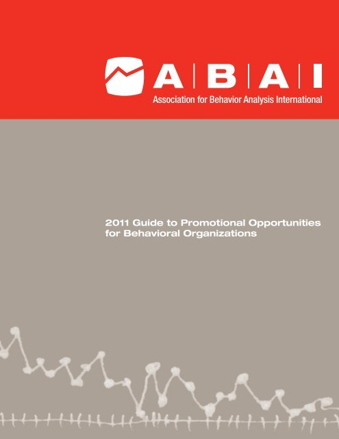 Guide to Promotional Opportunities for ... - ABA International