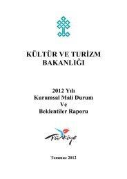 2012 Yılı Kurumsal Mali Durum ve Beklentiler Raporu için tıklayınız.