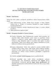 Reklam Teknik Şartname - Kültür ve Turizm Bakanlığı