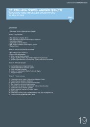 2006 Yılı Kurumsal Yönetim İlkeleri Uyum Raporu için tıklayınız.