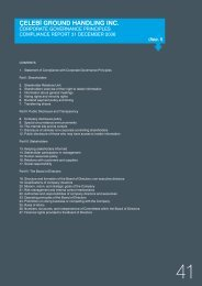the 2006 Corporate Governance Principles Compliance Report.