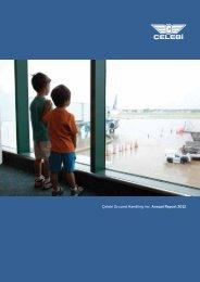 Çelebi Ground Handling Inc. Annual Report 2012