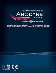 Anodyne Surgical Catalogue