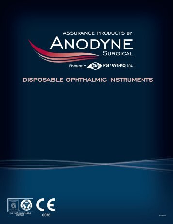 Anodyne Surgical Catalogue