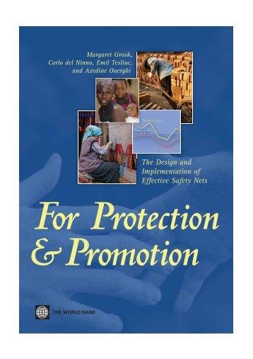 For Protection and Promotion - Food Security and Nutrition