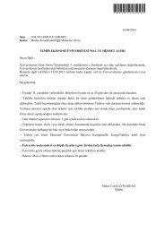 Medya Koordinatörlüğü Malzeme Alımı - İzmir Ekonomi Üniversitesi