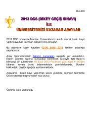 02-06 Eylül 2013 - İzmir Ekonomi Üniversitesi