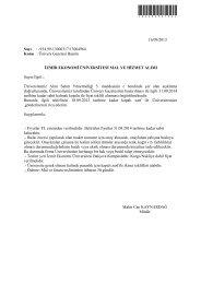 Ünivers Gazetesi Basımı - İzmir Ekonomi Üniversitesi