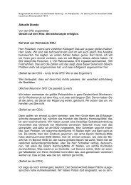Gewalt auf dem Kiez - Politikschmiede