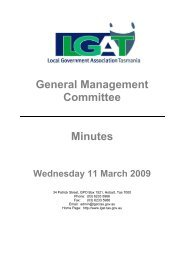 GMC Minutes 11 March 2009 - Local Government Association of ...