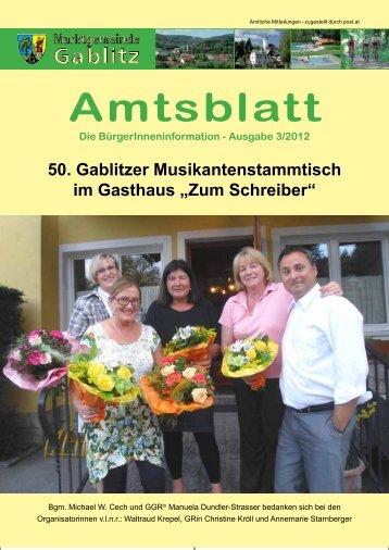 Amtsblatt 3/12 (5,89 MB) - .PDF - Gablitz