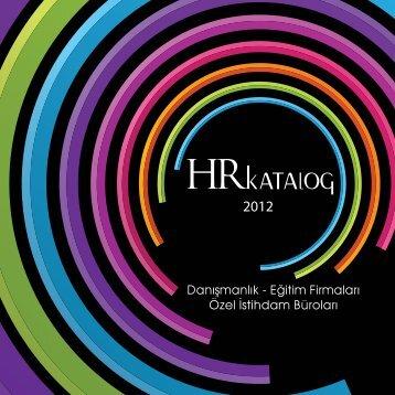 Danışmanlık - HR İnsan Kaynakları ve Yönetim Dergisi