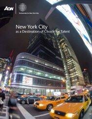 Aon Study - Partnership for New York City