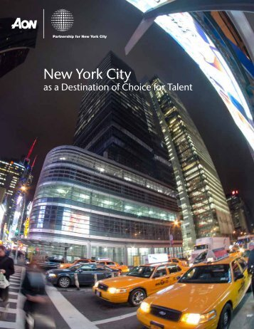 Aon Study - Partnership for New York City