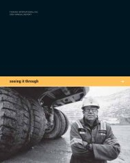 Download Entire 2004 Annual Report - Finning International Inc.