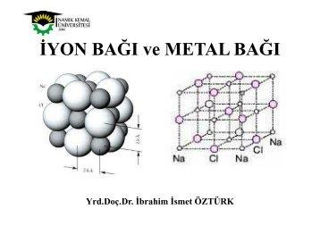 ĐYON BAĞI ve METAL BAĞI - E-Universite