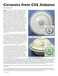 Ceramics from CSS Alabama - Transferware Collectors Club