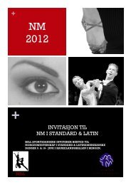 Invitasjon - Norges Danseforbund