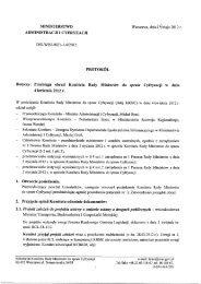 protokół - Komitet Rady Ministrów do spraw Cyfryzacji - Ministerstwo ...