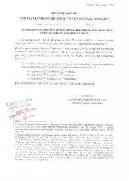 ROZPORZĄDZENIE MINISTRA TRANSPORTU, BUDOwNICTwA I ...