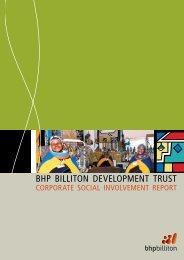 BHP BILLITON DEVELOPMENT TRUST - ELLEN PAPCIAK-ROSE