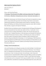 presseinformation - Netzwerk der Mobbingselbsthilfegruppen ...
