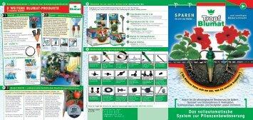 Das vollautomatische System zur Pflanzenbewässerung SPAREN