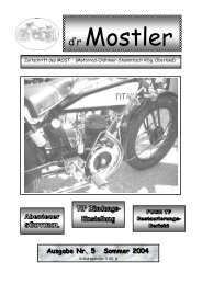 Mostler 5 2004 - Motorrad-Oldtimer-Stammtisch Vorarlberg