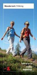 Wanderzeit / Hiking - Hotel Lagant