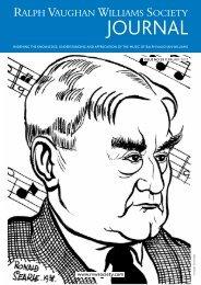 Vaughan Williams Society Journal - Hampstead Garden Opera