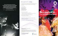 appeal leaflet - Scottish Opera