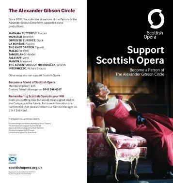 The Alexander Gibson Circle - Scottish Opera
