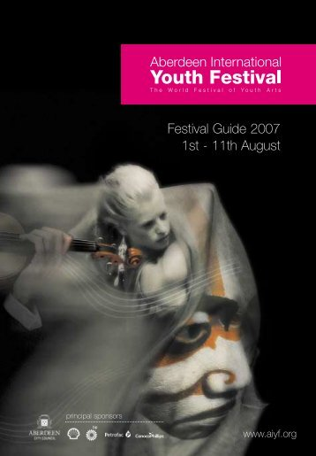 Festival Guide 2007 1st - 11th August - AIYF