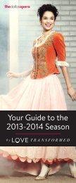 Your Guide to the 2013-2014 Season - The Dallas Opera