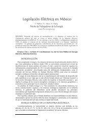 Legislación Eléctrica en México - Frente de Trabajadores de la ...