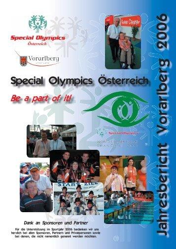 Jahresbericht Vorarlberg 2006 - Integrativer Sportverein