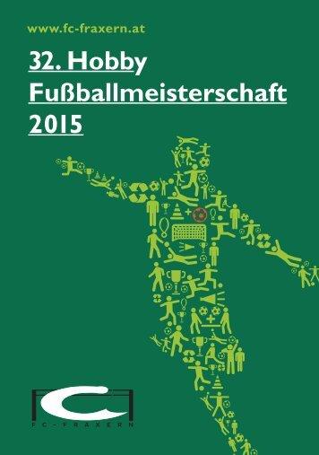 32. Hobby Fußballmeisterschaft 2015