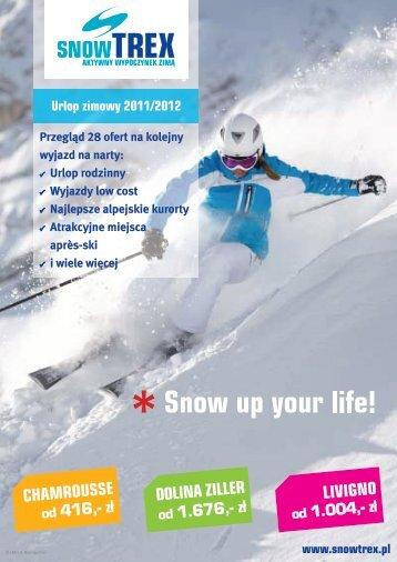 SnowTrex Katalog 2011 Polska