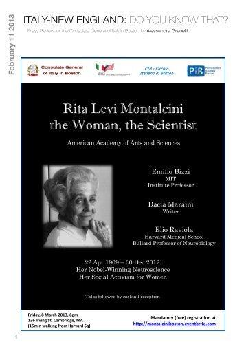 11 febbrario 2013 - Consolato Generale d'Italia a Boston