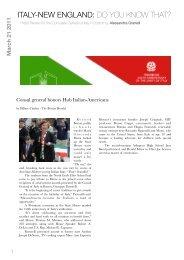 italy-new england - Consolato Generale d'Italia a Boston