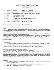 DON CHISCIOTTE E LA LUNA - Habanera Teatro
