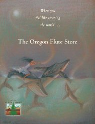 OFS insert pages col10/30 - Oregon Flute Store